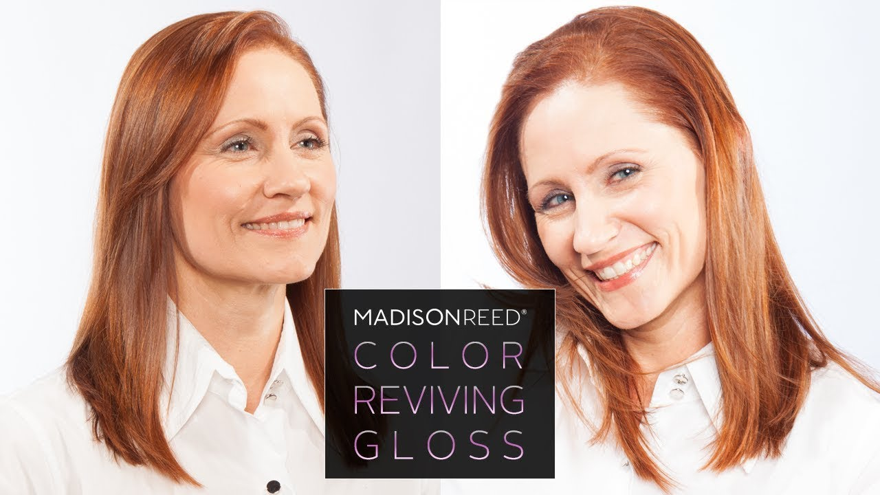 Madison Reed Color Reviving Hair Gloss Amaretto Youtube
