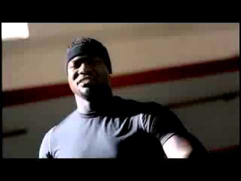 Warhawk Matt Scott in Nike 'No Excuses' Commercial