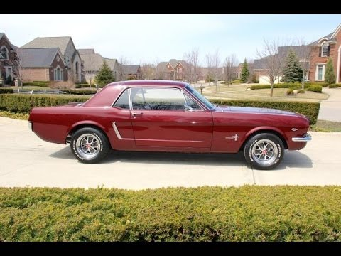 1965 Ford Mustang For Sale Youtube
