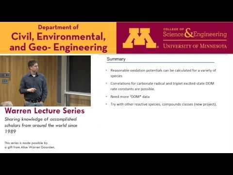 Warren Lecture Series Oct 30, 2015 Bill Arnold, University of Minnesota