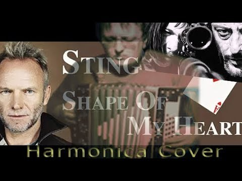 Sting - Shape Of My Heart (russian Harmonica Cover)