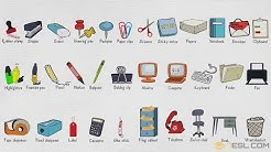 Office Supplies Names: List of Stationery Items and Office Supplies in English with Pictures