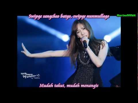 SNSD Taeyeon - And One [That Winter, The Wind Blows OST] (indo sub)