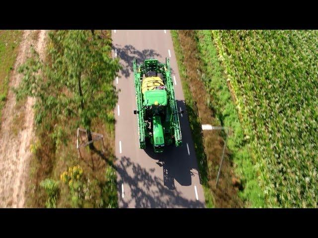 John Deere - pulverizadores - PowrSpray - Controlo perfeito do caudal