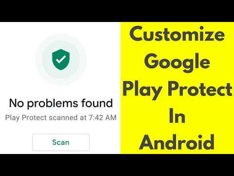 How To Enable or Disable Google Play Protect In Your Google Play  Store-Android