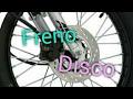 Mantenimiento motocicleta Freno de Disco (En casa) con AKT NKD 125