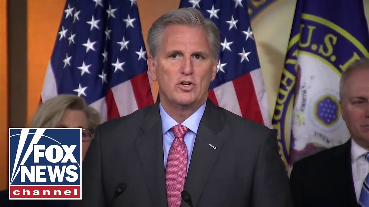 Live: House GOP leaders hold press conference amid impeachment