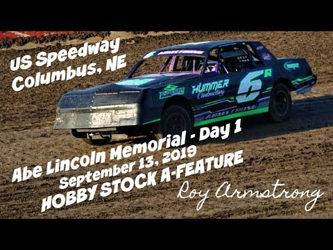 09/13/2019 US 30 Speedway Hobby Stock A-Feature with Opening Ceremony