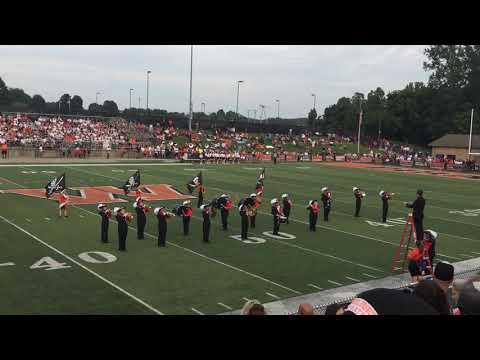 Wheelersburg high school marching band