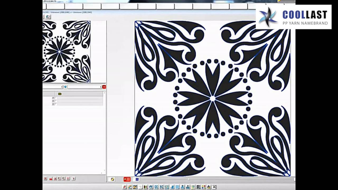 Cad Fabric Design Software Automize Pattern Creator For Textile Youtube