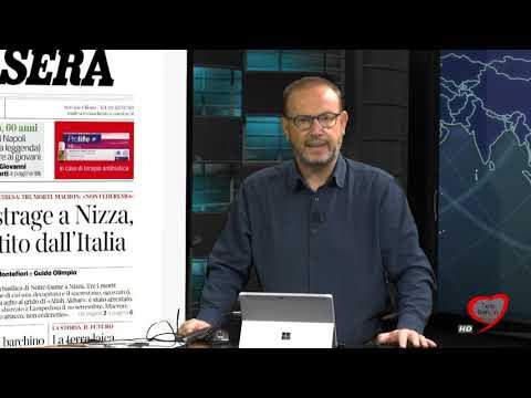 I giornali in edicola - la rassegna stampa 30/10/2020