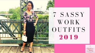 7 Sassy Work Outfits |2019|
