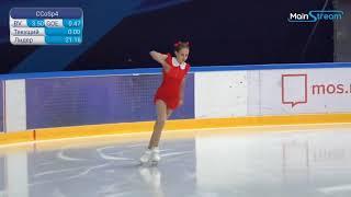 Anastasia ZININA Ladies Short Program 3 Moscow Junior Championships 2020 9 4