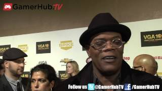 The Avengers Star Samuel L Jackson Talks Video Games