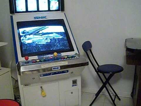 neo geo mvs candy cab arcade machine metal slug x blazing star snk