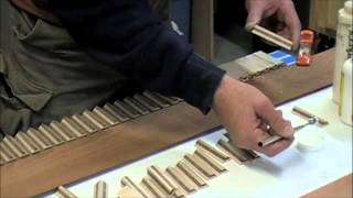 Wood Inlay - How To Make Custom Wood Inlay Banding - Skills & Techniques Tutorial