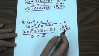 Factoring trinomials(when A≠1/new method)