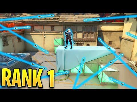 Valorant: What The RANK 1 SOVA Player Looks Like..!! - 200IQ Tricks U0026 OP Plays - Valorant Highlights
