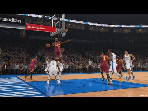 NBA 2K15 Cleveland Cavaliers Vs Oklahoma City Thunder 11-12-2014