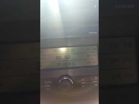 FM-DX Slovenian radio (Slovenija 1) received in Sweden via E-skip