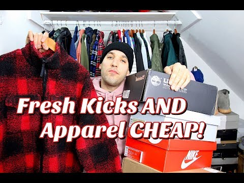 FRESH KICKS AND APPAREL FOR CHEAP! STEALS AND DEALS FOR THE LOW!
