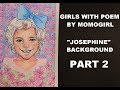 GIRLS WITH POEM|BY MOMOGIRL|PART 2|BACKGROUND/DRESS