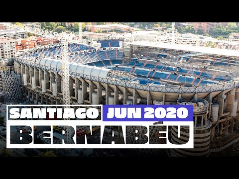 🏟️ Real Madrid | New Santiago Bernabéu Stadium Renovation Works!