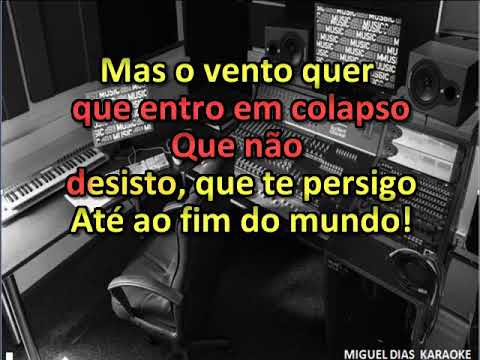 Paulo Sousa - Até ao Fim do Mundo (Karaoke) Versão