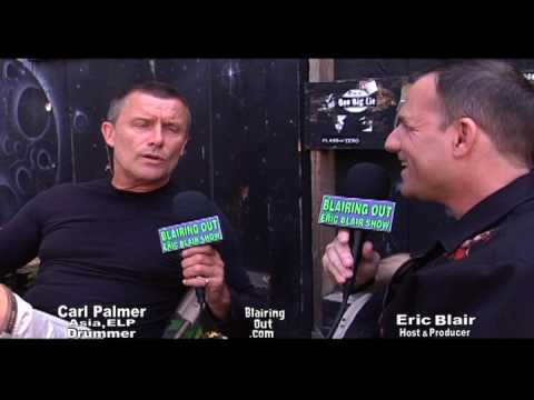 ELP's Carl Palmer & Eric Blair walk through his career 2007