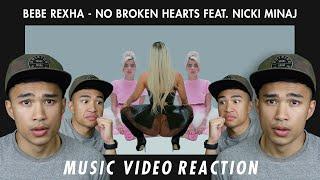 BEBE REXHA No Broken Hearts (feat. Nicki Minaj) Reaction | AWRG