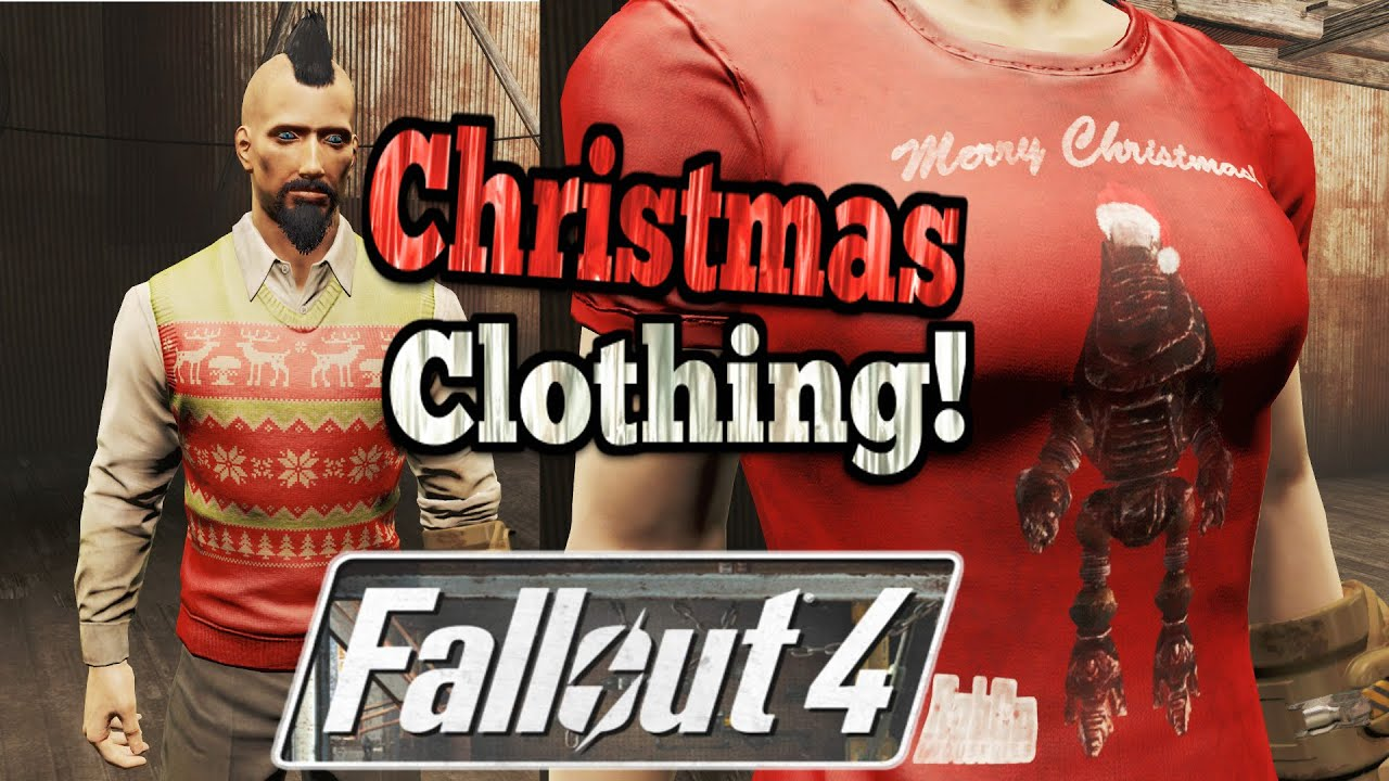 Fallout 4 Clothing Mods - Christmas Shirt Robco Protectron & The ...