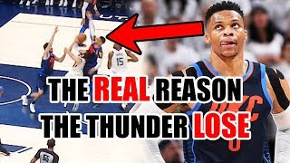 The REAL Reason The Thunder Are LOSING To The Jazz In The NBA Playoffs