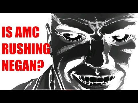 Is AMC Rushing Negan in Season 6? The Walking Dead [Let