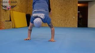 Стойка и ходьба на руках.  Обучение и закрепление функционального движения в кроссфите
