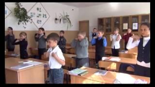 фрагменты уроков физкультуры, физкультминутки