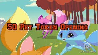 50 Pet Token Opeฑing // AJPW // ANIMAL JAM // 2021