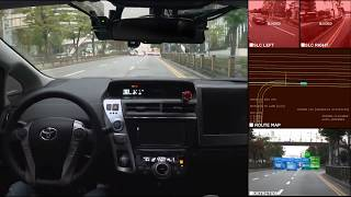 NAVER LABS - AUTONOMOUS DRIVING in a real urban environment