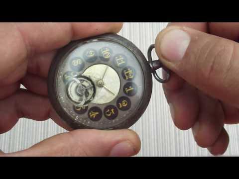 Open Heart Pocket Watch - Taschenuhr