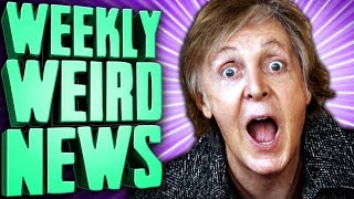 BEAT THE MEATLES - Weekly Weird News