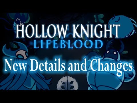 Hollow Knight Lifeblood (Compilation) 28+ New Details And Changes