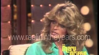 Farrah Fawcett Interview- Charlie's Angels (Merv Griffin Show 1976)