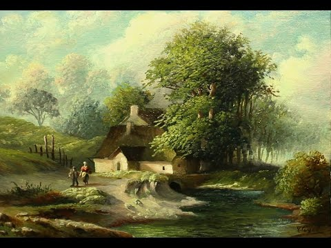 Simple Tutorial Oil painting Landscape By Yasser Fayad ياسر فياض - Simple Tutorial Oil Painting Landscape By Yasser Fayad ياسر فياض