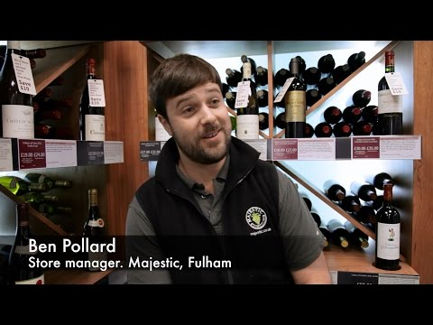 Ben Pollard, Store Manager, Majestic Wine