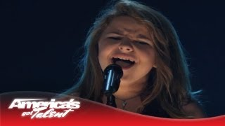 anna christine young singer shocks with wild horses cover americas got talent 2013