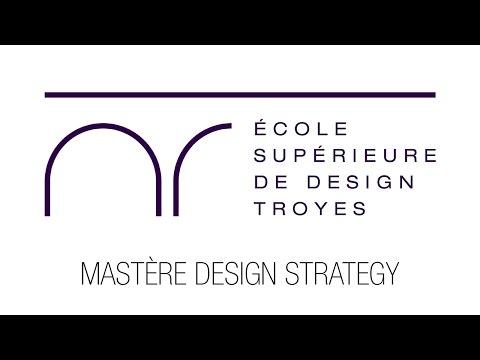 Le Mastère Design Strategy de l'École Supérieure de Design de Troyes en 1 minute
