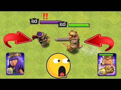 Max Level 60 Archer Queen Vs Max Level 60 Barbarian King | Clash Of Clans Ultimate Battle