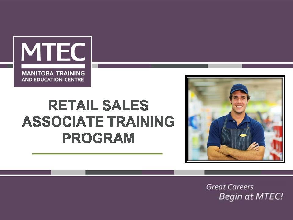 Retail Sales Associate Training Program - MTEC - YouTube