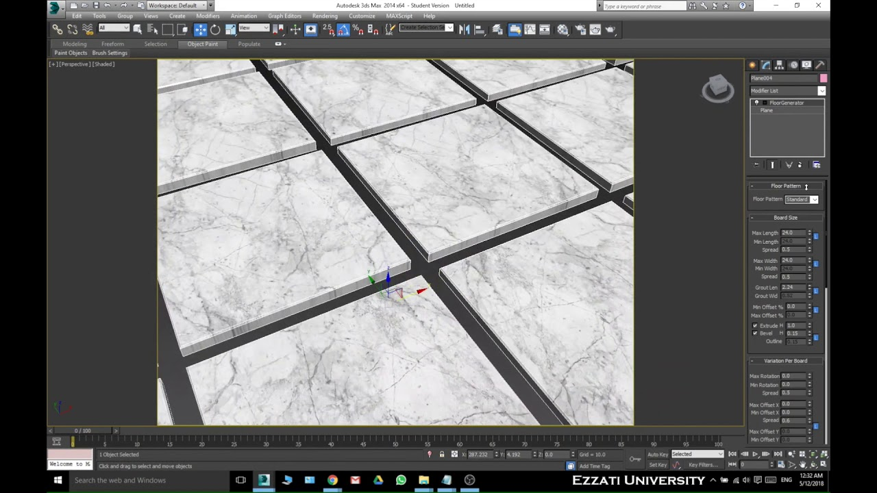 3ds Max Floor Generator Install and Tutorial - YouTube