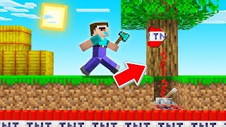 I Trolled My FRIENDS With A TNT TREE! - Camp Minecraft
