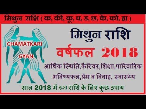 Mithun Rashi 2018, Gemini Horoscope 2018, मिथुन राशिफल 2018||CHAMATKARI GYAN